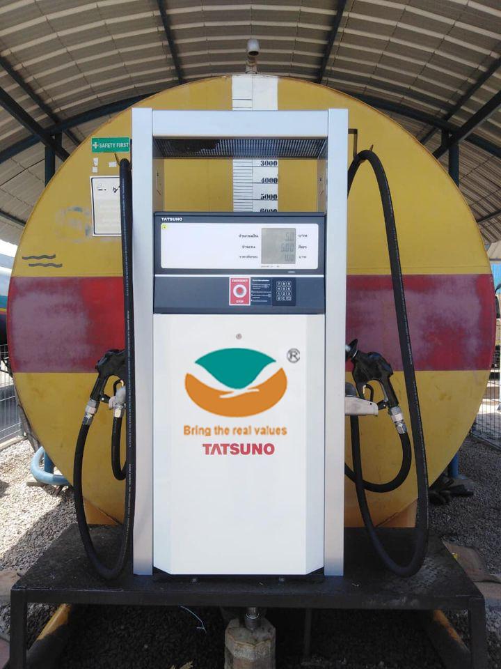 Lắp đặt cột bơm xăng dầu điện tử cho trạm cấp dầu nội bộ